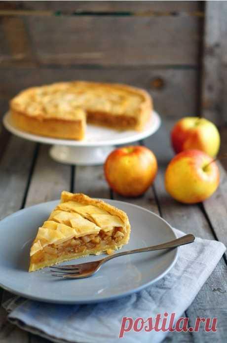 Яблочный тарт — Sloosh – кулинарные рецепты