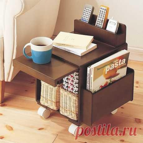 Компактный и нужный столик