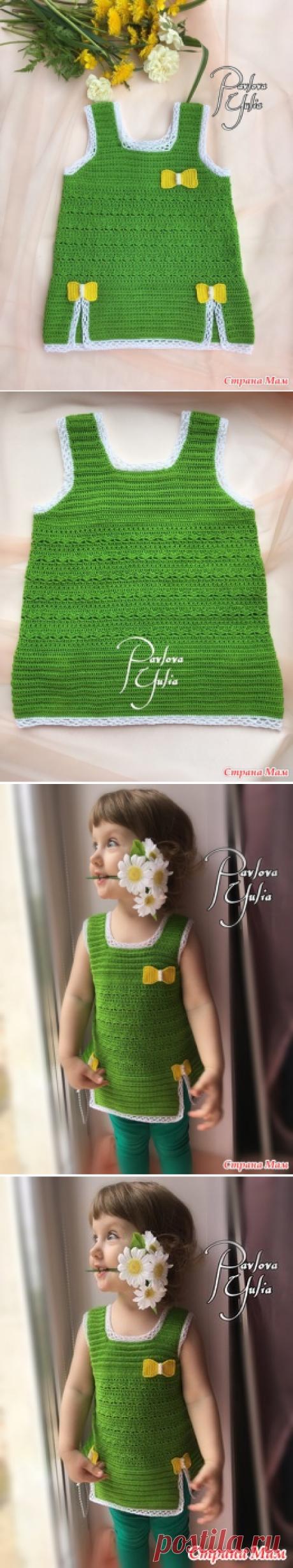 Летняя туника для девочки 2лет - Вязание для детей - Страна Мам