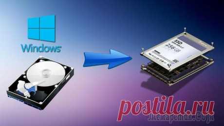 Как перенести систему Windows c HDD на SSD диск