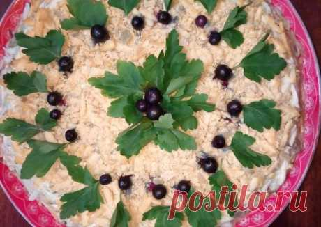 (11) Салат с копчёной курицей - пошаговый рецепт с фото. Автор рецепта Larisa . - Cookpad