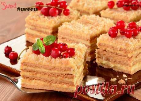 Торт-пудинг (без выпечки) | Sweet Twittes