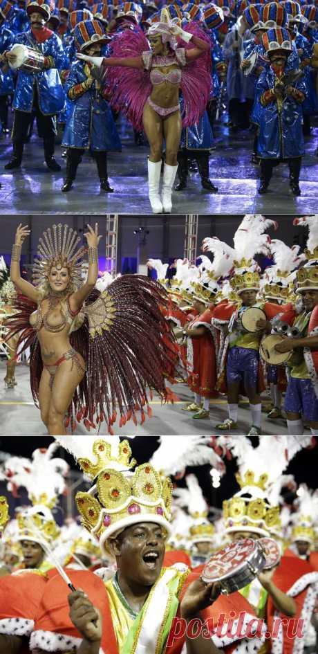 Карнавал в Сан-Паулу 2014 | В мире интересного