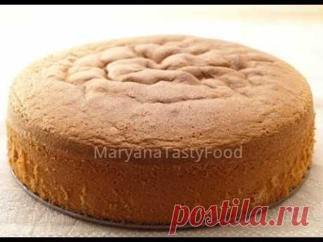 ✧ БИСКВИТ ИДЕАЛЬНЫЙ И БЕЗ ПРОБЛЕМ [#Классический] ✧ Sponge Cake Recipe ✧ Марьяна