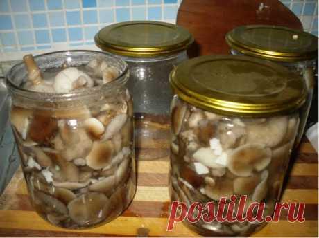 МАРИНОВАННЫЕ ГРИБЫ, САМЫЕ ВКУСНЫЕ!  грибы (польский, белый, синеножка, подосиновик, сморчок, опята)  из расчета на 1 литр воды:  2 ст. ложки с горкой сахара  4 ч. ложки с горкой соли  5 ст. ложек уксуса (9%)  4 горошины душистого перца  8 горошин черного перца  2 цветочка гвоздики  3 лавровых листа  2 больших зубчика чеснока    ШАГ 1  Грибы моем, перебираем, режем на части и отвариваем в подсоленной воде. Варим грибы, после того как они по-настоящему закипели, 15 минут. В ...