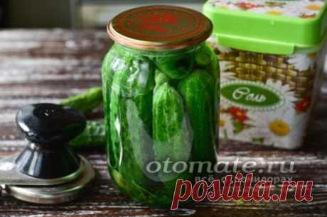Сладкие маринованные огурцы - рецепт на зиму хрустящие, сладкие, на 1 литр, без стерилизации