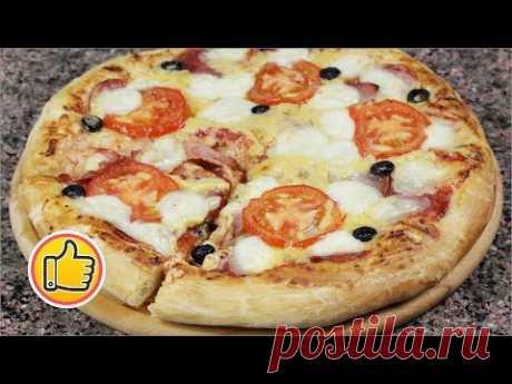 Итальянская Классическая Пицца, Быстрое Тесто!   Recipe for Сlassic Pizza