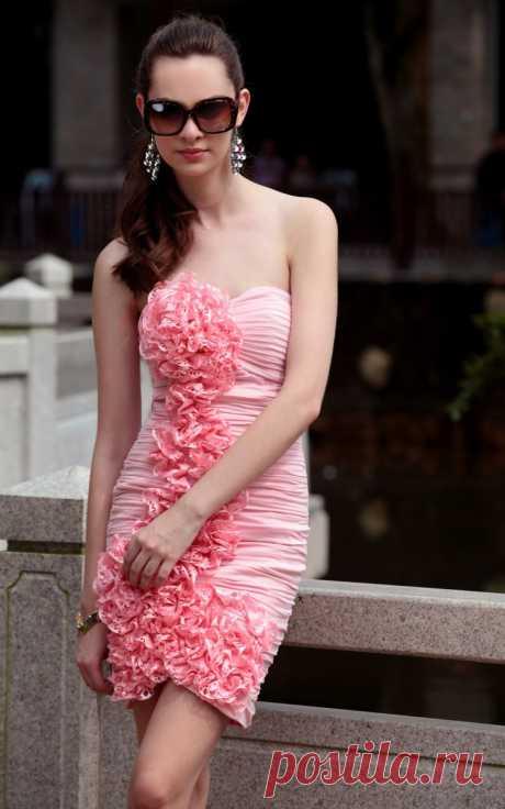 Платье  Арт № Sdk 16 Размер: S,  M,  L,  XL, 2XL Ткань: высококласный шифон