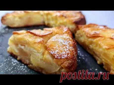 Больше яблок, чем теста   Лучшие рецепты яблочного торта со свежими яблоками   ВКУСНЫЕ РЕЦЕПТЫ