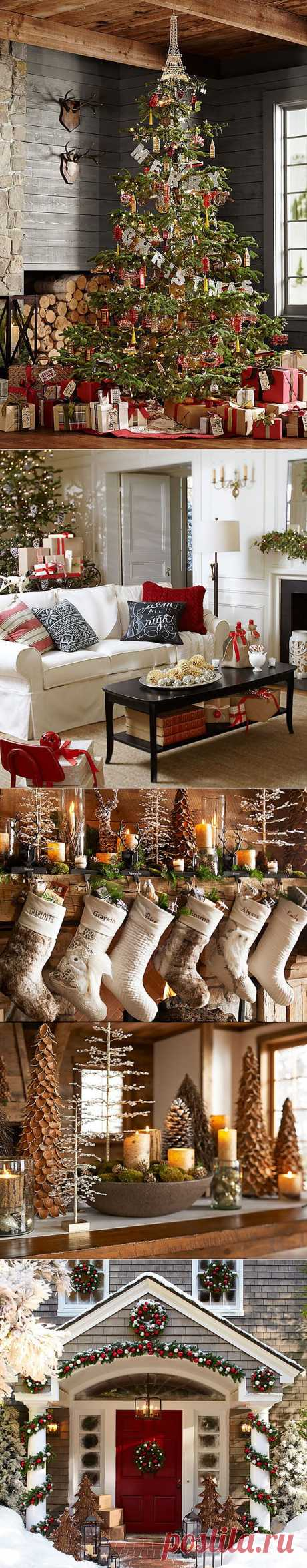 New Year's ideas of registration in the new Pottery Barn collection.