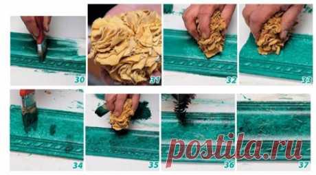 Как покрасить потолочный плинтус и зачем это делать