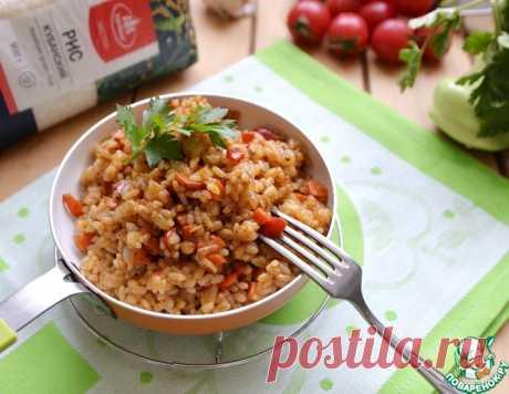 Рис с овощами на сковороде – кулинарный рецепт