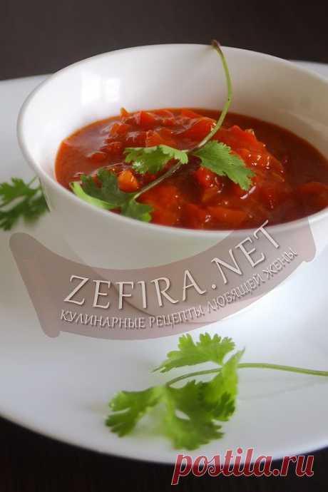 Лечо на зиму – рецепт из помидор и болгарского перца.Такое лечо позволит приготовить шикарный ужин, ведь блюдо отлично сочетается с макаронами или же отлично подходит в качестве заправки в наваристые зимние супы.