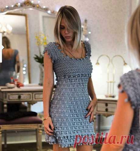 Изумительное платье от Vanessa Montoro - Вязание - Страна Мам