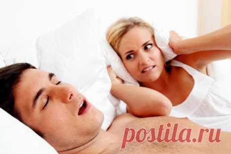 Как избавиться от храпа и дать спокойно спать близким