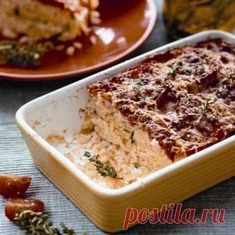 Запеканка из риса ипеченых овощей, второе блюдо. Пошаговый рецепт с фото на Gastronom.ru