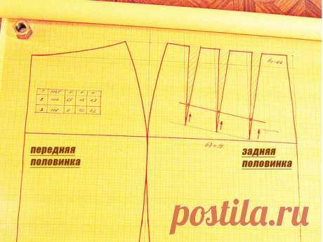 [Шитье] Как построить идеальную выкройку прямой юбки? Часть 3, заключительная