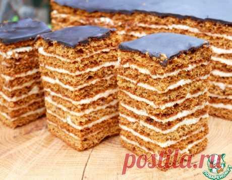 """Торт """"Медовый пух"""" – кулинарный рецепт"""