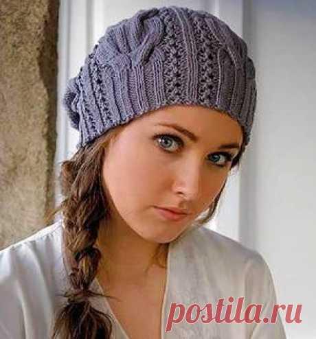 Вязание спицами шапки для начинающих, как связывать шапку спицами Как связать шапку спицами для начинающих, поэтапное связывание изделия. Размеры шапки и виды узоров для украшения. Женская шапка спицами.