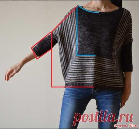 Вяжем пуловер True Friend от Veera Vаlimаki