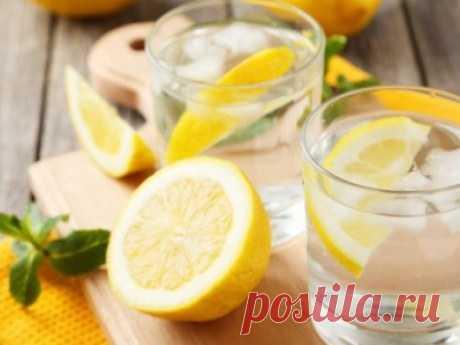 Что произойдёт с организмом, если начинать утро со стакана воды с лимоном: New-Pressa