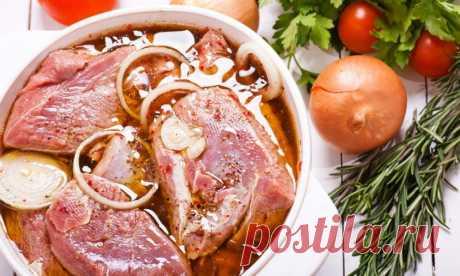 Муж принес с работы рецепт маринада для мяса: с ним любое мясо получается сочным и вкусным
