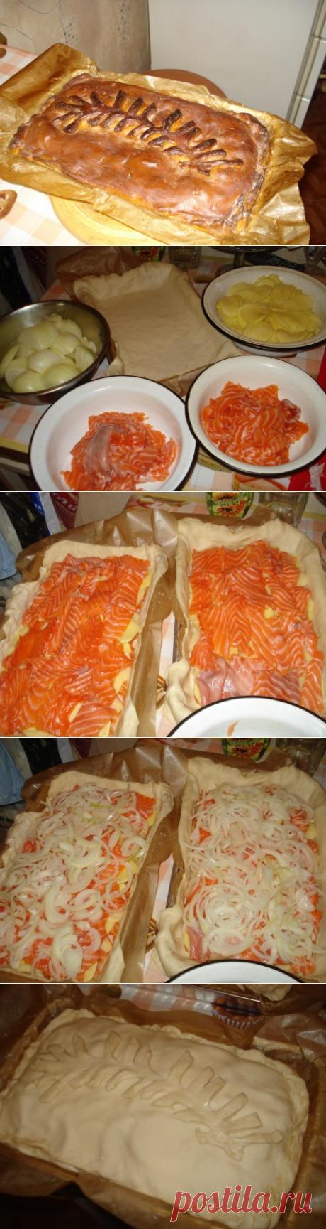 Рыбный пирог - рецепт, которому не менее 100 лет. Мой любимый