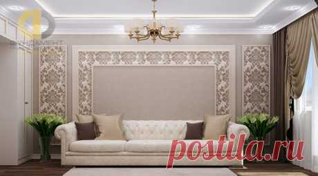 La foto el proyecto de diseño del interior del apartamento Moscú, la avenida Odoevsky, d. 7, a. 6 80 sq. m. 126 000 rbl.