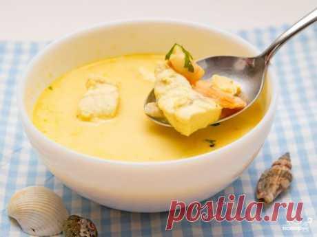 Сливочный суп с семгой - пошаговый кулинарный рецепт с фото на Повар.ру