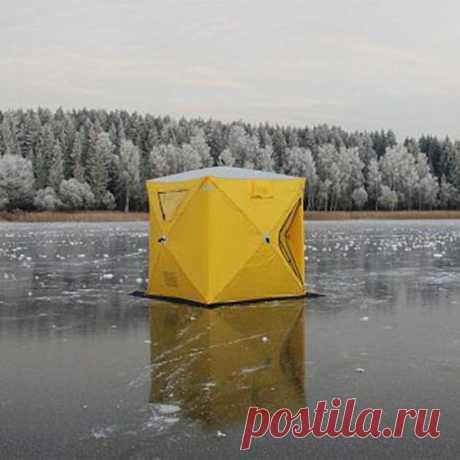 """Почему я бы советовал купить палатку типа """"куб""""   ПОРЫБАЧИМ!   Яндекс Дзен"""