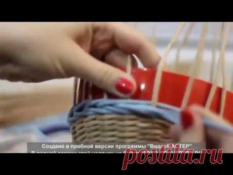 Состыковка веревочки в 3 трубочки и переход с обратной на прямую - YouTube