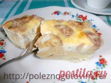 Рецепт пирога с бананом | Блог Лены Радовой