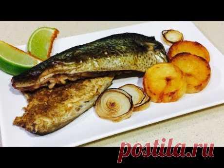 Нереально вкусная скумбрия. Как вкусно приготовить скумбрию в духовке. Рецепты рыбных блюд.#скумбрия