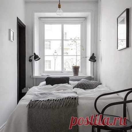 Дизайн маленькой спальни 10 кв. м: 95 фото интерьеров, планировки | ivd.ru