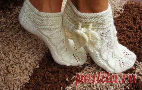 Пинетки, носки, вязаная обувь - Каталог файлов - Вязание для детей