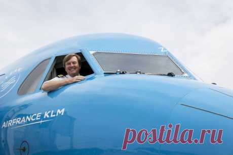 Король Нидерландов тайно работал пилотом пассажирского самолёта