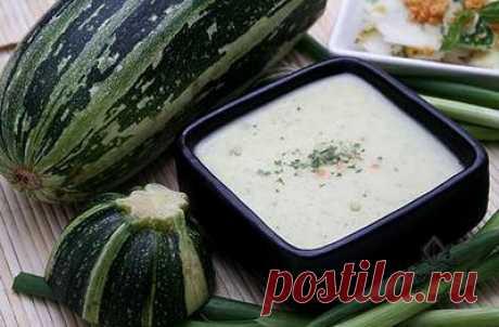Суп крем из кабачка | Женское кредо
