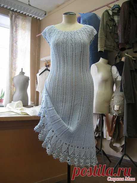 Летнее платье Долотовой Ирины со страны мам.