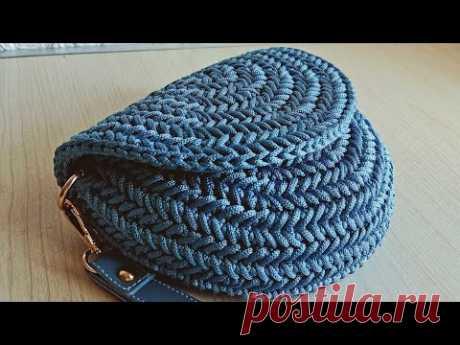 Паркет – елочка    сумки  из полиэфирного шнура