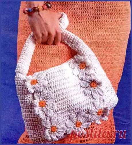 Схемы вязания сумок - Схемы для вязания - Уроки вязания крючком - Вязание крючком, схемы для вязания крючком