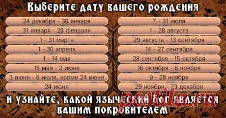 Древнеславянский гороскоп: кто из языческих богов наделил вас силой? - Эзотерика и самопознание