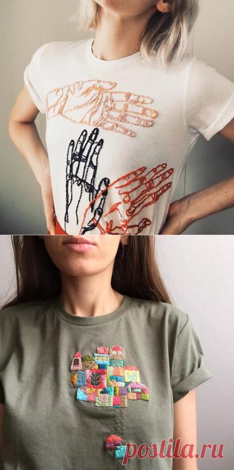 вышиваем на одежде своими руками слова: 7 тыс изображений найдено в Яндекс.Картинках