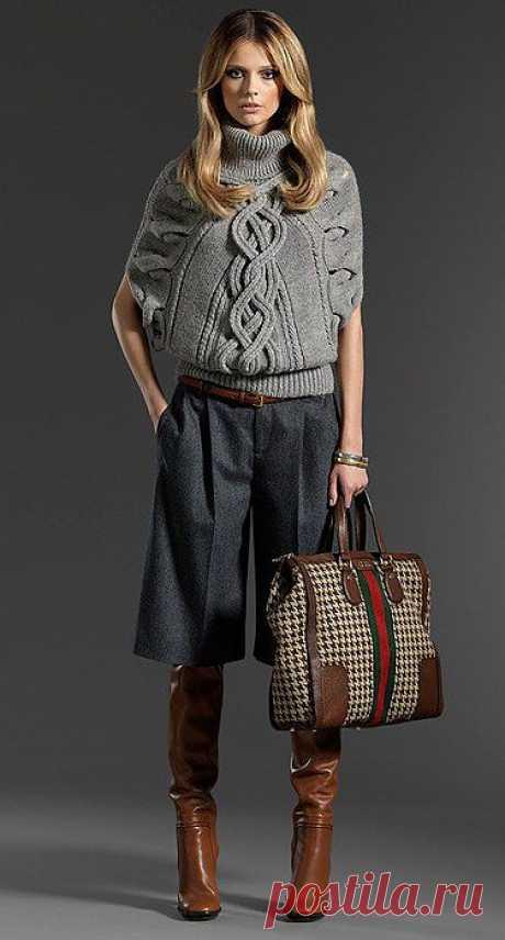 Свитер из осенней коллекции pre-fall от Gucci.