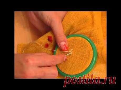 LESSON 5. Options of flowers. Camomiles. Volume Embroidery. Galina Perova.