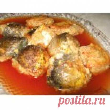 """Фаршированная рыба по-еврейски в тефтелях """"Гефилте фиш"""" Кулинарный рецепт"""