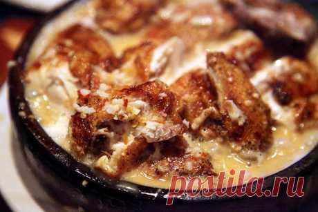Чкмерули — блюдо с невероятным вкусом, и тающем во рту мясом! — BonApetito