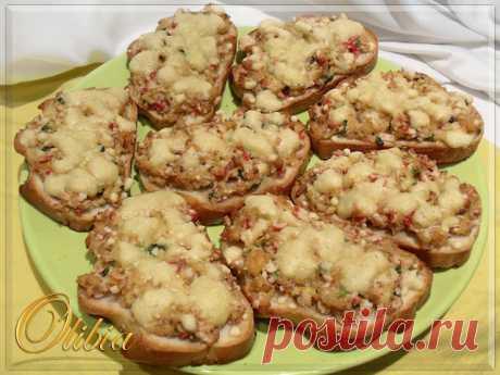 Горячие бутерброды с консервированной горбушей – пошаговый рецепт с фотографиями