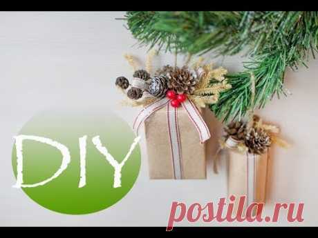 Игрушки на новогоднюю елку DIY Tsvoric - YouTube