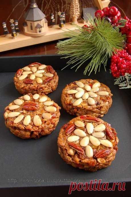 Хотите поднять уровень рождественского настроения? Zelten — рождественский пряник   Вкусные рецепты