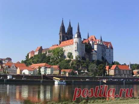 Замок Альбрехтсбург / Albrechtsburg, первый замок Германии.